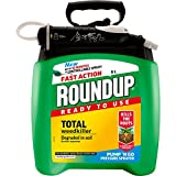 Roundup 119407 Fast Action Weedkiller Pump 'N Go Ready To Use Spray, 5 L