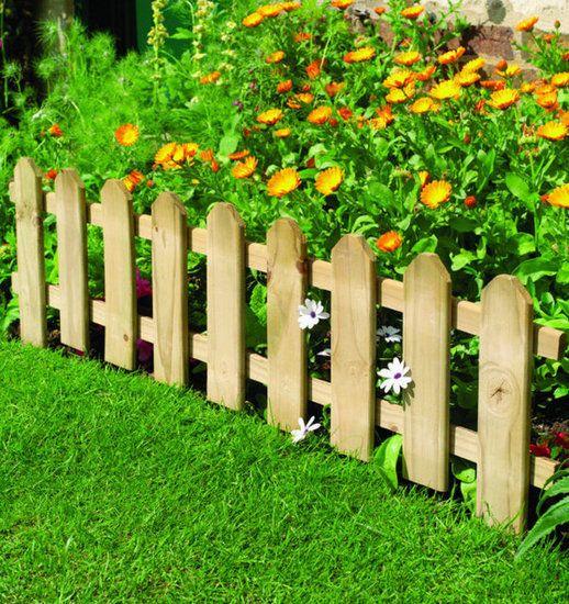 Small Garden Fence Edging