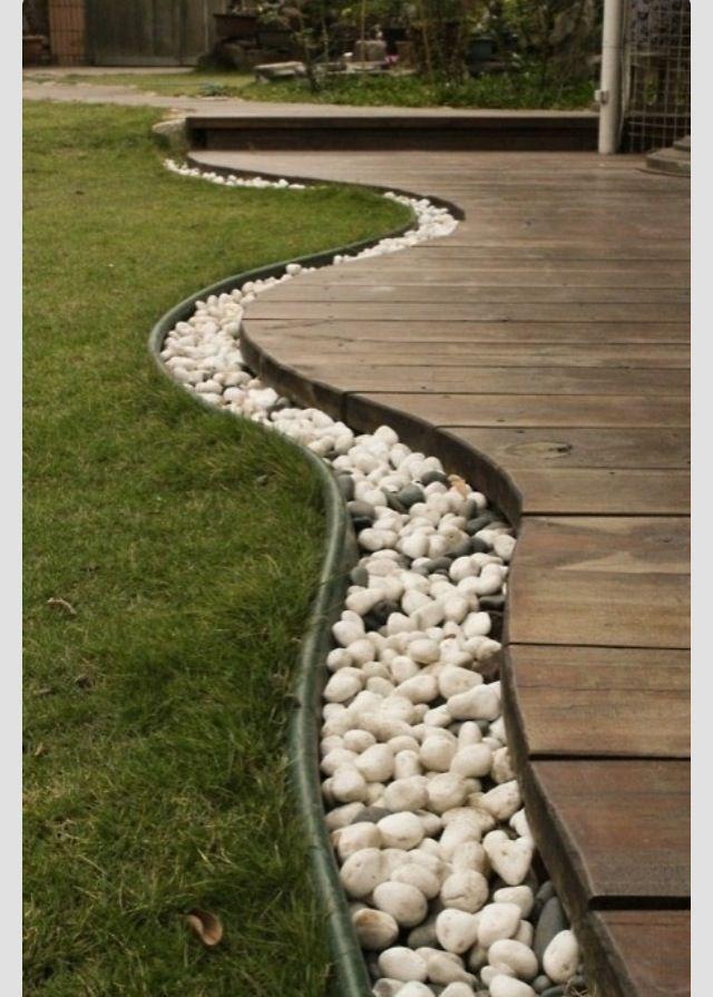 Garden Decking Edging