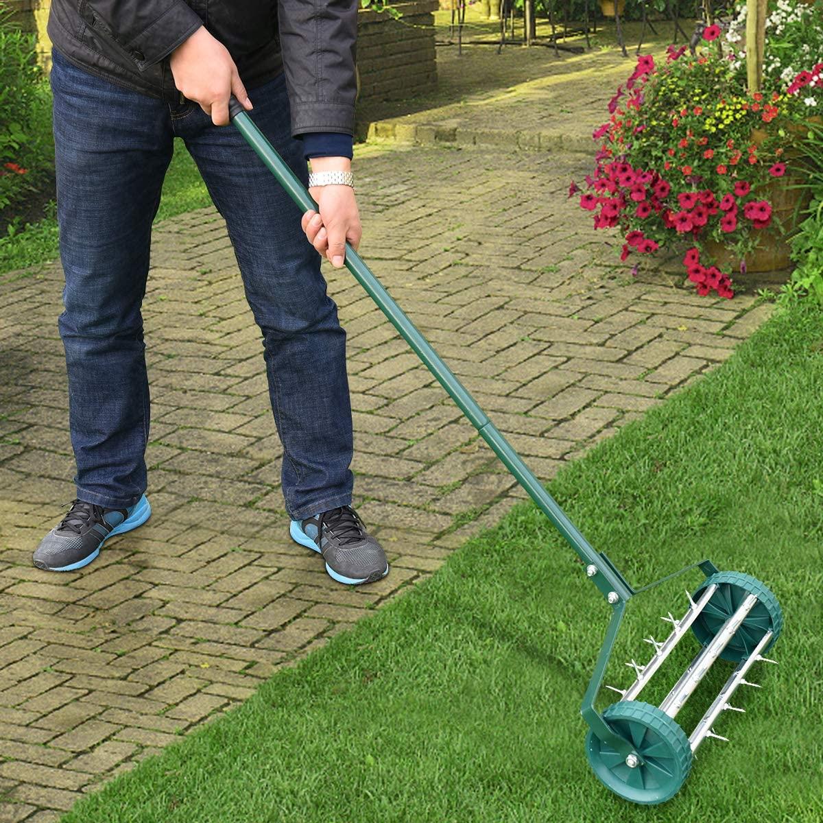 4 Best Manual Lawn Aerators Spalding Bulb